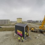 9-montare casa prefabricata 45 mp cu etaj Heijmans One Amsterdam