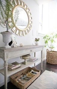 9-oglinda design deosebit cu rama aurie decor perete hol