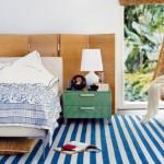9-paravan pliabil din lemn decor perete pat dormitor