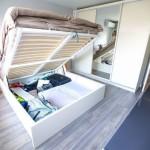 9-pat de dormitor cu lada de depozitare