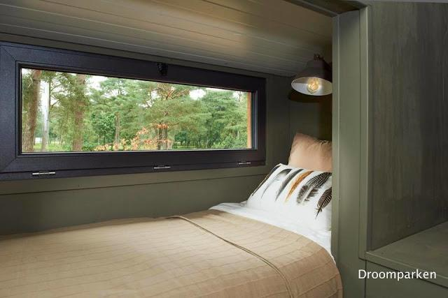 9-pat de o persoana dormitor mansarda mica DroomParken Village