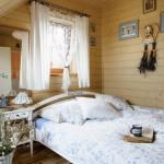 9-pat din lemn dormitor rustic casuta taraneasca polonia