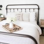 9-pat metalic vintage si noptiere moderne amenajare dormitor