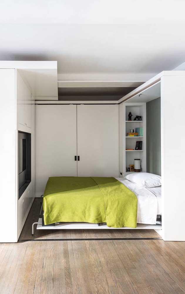 pat rabatabil perete solutie dormitor ingust