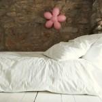 9-patul uneia dintre fetitele proprietarilor casei
