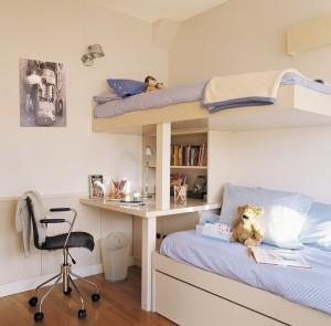 9-paturi supraetajate camera copil pentru economie spatiu