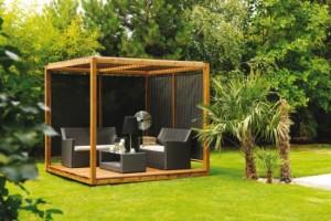 9-pavilion cu design minimalist de forma cubica decor gradina moderna