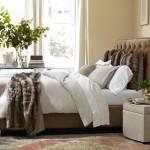 9-perne si cuvertura imitatie blana accente decorative pat dormitor