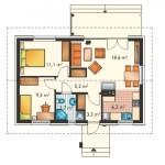 9-plan interior proiect casa mica suprafata 57 mp