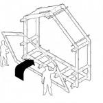 9-ridicare schelet lemn casa prefabricata wikihouse
