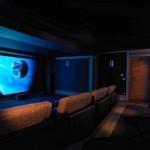 9-sala cinema cabana lux cabana lemn la bergerie alpi francezi