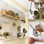 9-scari vechi transformate in diverse suporturi decorative pentru vasele din bucatarie