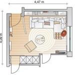 9-schita plan amenajare living modern mic 16 mp