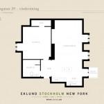 9-schita plan apartament doua camere mansarda