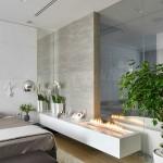 9-semineu pe bioetanol decor dormitor modern minimalist cu influente asiatice