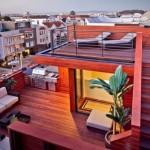 9-spatii de relaxare amenajate pe acoperis