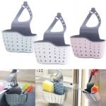 9-suport plastic pentru lavete si bureti fixare pe robinetul de la chiuveta de bucatarie