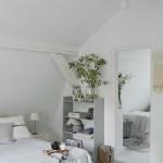 9-unul dintre dormitoarele din mansarda casutei taranesti poloneze