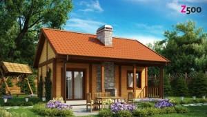4 proiecte de case mici, de 50 mp, pentru familii tinere sau pensionari