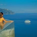 9-vedere spre golful salerno din piscina hotel santa rosa manastire sec 17