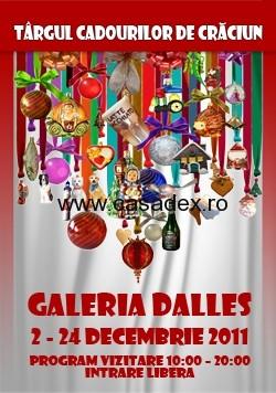 Dupa cadouri, la targul de la Dalles