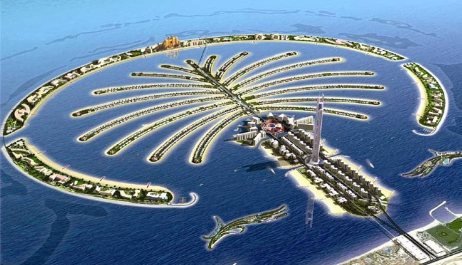 Palm Jumeirah Insula Palmier din Dubai