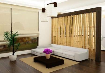 Paravan despartitor bambus