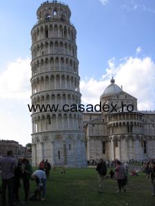 Turnul din Pisa, o inclinare atractiva