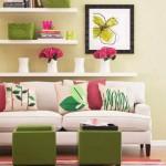 accesorii colorate living modern