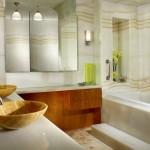 amenajare baie moderna decor marmura alba