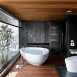 amenajare baie moderna minimalista tendinte 2015