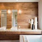 amenajare baie moderna tendnte 2015 decor lemn si marmura