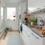 amenajare bucatarie moderna mansarda apartament