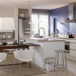 amenajare bucatarie open space apartament modern