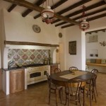 amenajare bucatarie rustica siciliana
