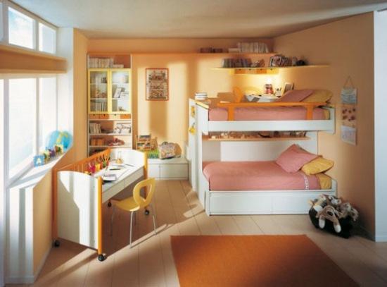 amenajare camera trei copii