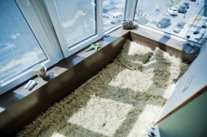 amenajare dormitor in balcon