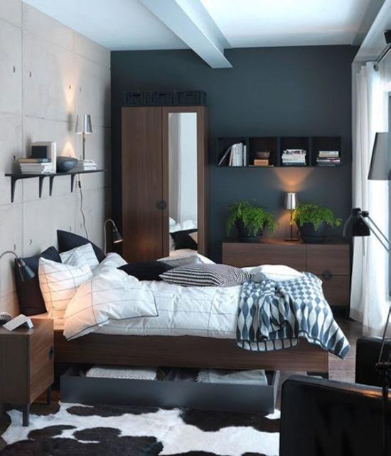 amenajare dormitor modern mic