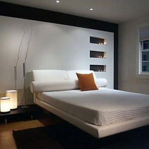 amenajare dormitor modern stil asiatic