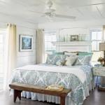 amenajare dormitor pastel alb si bleu
