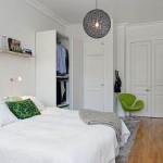 amenajare dormitor stil scandinav