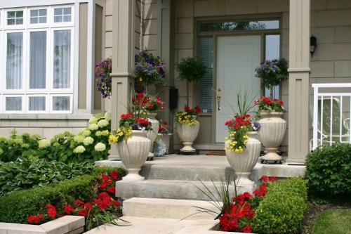amenajare gradina in fata casei