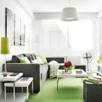 amenajare living modern apartament doua camere 40 mp