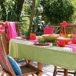 amenajare loc de luat masa in balcon sau pe terasa