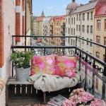 amenajare loc relaxare balcon mic apartament
