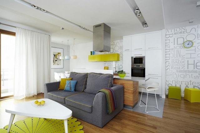 amenajare open space apartament modern