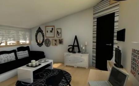apartament mic amenajat