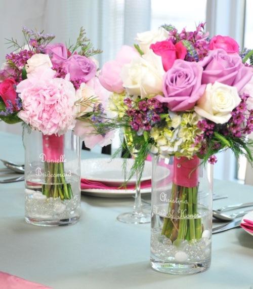 aranjament floral nunta ieftin
