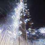 Cum arata focurile de artificii in DUBAI – Video