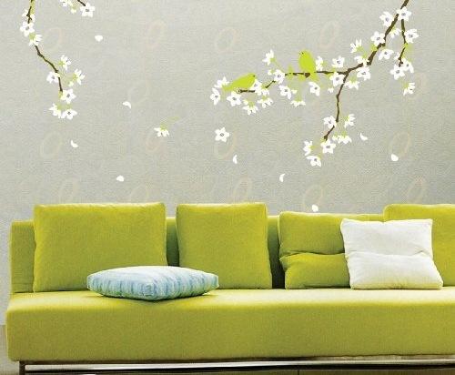 autocolant decorativ perete primavara